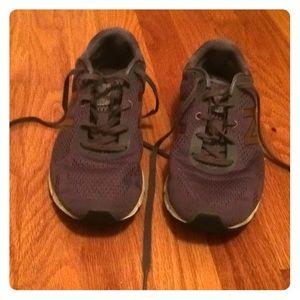 Purple New Balance Athletic Sneakers